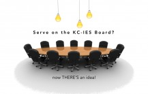Serve on the KCIES board